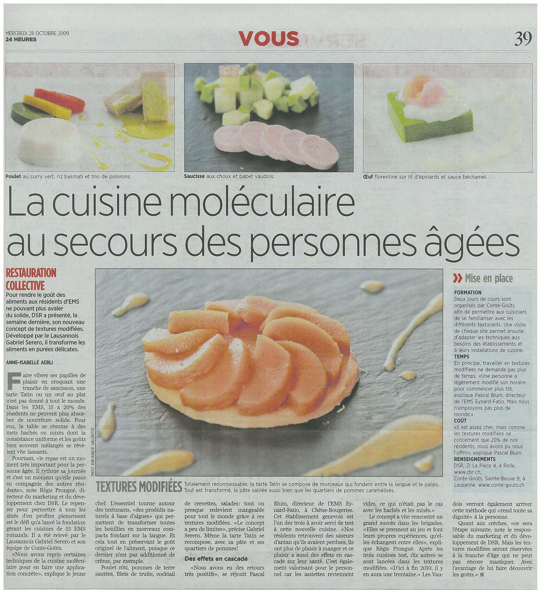 Article emotion food company for Articles cuisine
