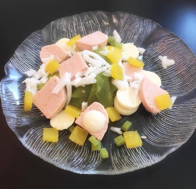 Salade de cervelas avec Easy-Base